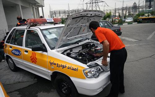 آغاز طرح خدمات عمومی امدادخودرو سایپا در مراکز معاینه فنی تهران